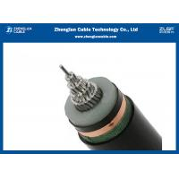 China Single Core MV Armoured Electrical Cable IEC60502 Black Or Customized Out Sheath Color on sale