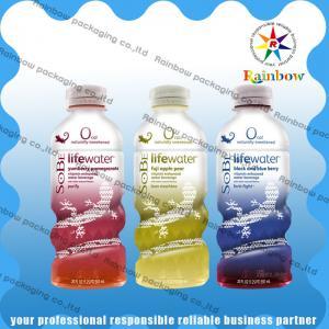 China Drink Bottle Shrink Wrap Sleeves Custom Printing Heat Sensitive Waterproof wholesale