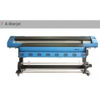 China Eco Solvent printer of A-Starjet 7703 with 1.8M Width and three Epson DX7 print head wholesale