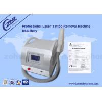 China Q Switch Nd Yag Laser Tattoo Removal Machine Pigment  / Speckle Removal wholesale