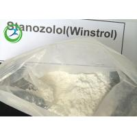 Buy cheap Winstrol Stanozolol Oral Anabolic Steroids Raw White Crystalline Powder CAS from wholesalers