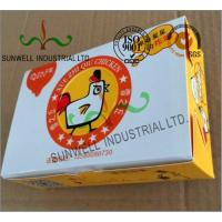 China Double Wall Cardboard Food Packaging Boxes , Disposable Cardboard Burger Boxes wholesale