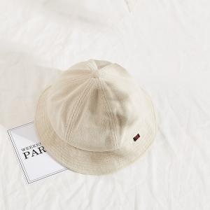 China BSCI Terry Corduroy Fisherman Bucket Hat No Buckle wholesale