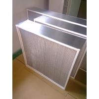 China Box Type High Temperature Air Filter , Oven Fan Filter For Food Processing Plants wholesale