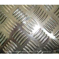 China Aluminum Checquered Plates Diamond /5 bars pattern with paper interleveled  1100 1050 3003 5052 5083 for car ,step ,ship wholesale