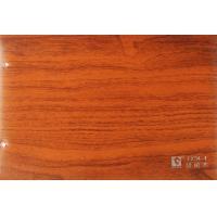 China PVC Decorative Wood Grain Film Lamination Membrane Stained Surface for Door on sale