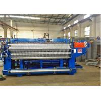 China Holland Wave - Shaped Roll Mesh Welding Machine Wire Diameter 1 . 5mm - 3mm wholesale
