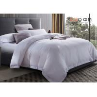China Custom Hospital Bed Sheet / Hotel Collection Queen Sheet Set 200T-250T wholesale