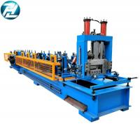 China 3mm Thickness C Z Purlin Roll Forming Machine 8 - 12mpa Work Pressure wholesale