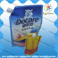 China Leak Proof Spout Pouch Packaging Custom Printed For Detergent wholesale