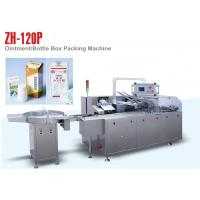 China PLC Control ZH 120P Automatic Cartoning Machine for Small Medicine Bottle wholesale