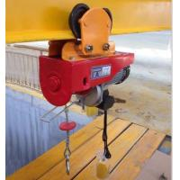 China micro electric hoist wire rope hoist crane 100kg to 1000kg 220V single phase on sale