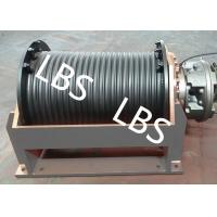China Horizontal Vertical Pull Hydraulic Boat Winch Fishing Winch Smooth Operation wholesale