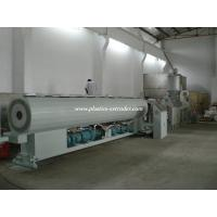 China Single Screw PVC Pipe Extruder Plastic Extruding Machine Pipe Production Line wholesale