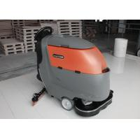 China One Key Control Industrial Floor Scrubbing Machines With 2x 13Inch Brush wholesale