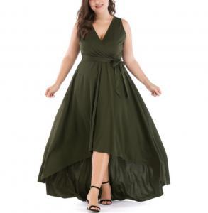 China Wholesale sexy fat women dresses sleeveless long plus size dress on sale
