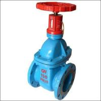 China Sewage Resilient Seated Gate Valve Pn10 Light Weight With Corrosion Resistance wholesale