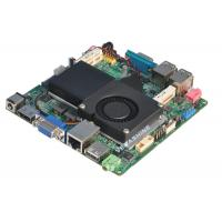China Intel® 1037U CPU Embedded Nano mainboard Support VGA / HDMI / LVDS Dual Display wholesale