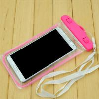 China Universal 5.5 Inch Pvc Waterproof Phone Bag For Iphone 6s 6 Plus , Pink / Oragne / Blue wholesale