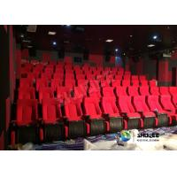 China Sound Vibration Cinema 90 People Movie Theater Seats Special Effect Environment wholesale