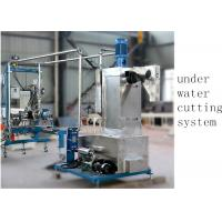 Buy cheap Underwater Pelletizer System Compounding Pelletizing PE Plastic Pellet Extruder 500 kg H from wholesalers