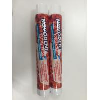 Buy cheap Round Laminated Aluminum Barrier Toothpaste Tube With Fez Cap from wholesalers