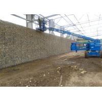 China Flexible Retaining Wall Gabion Baskets / Economic Stone Wall Wire Cage on sale