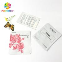 China Cosmetic Facial Mask Foil Pouch Packaging Customized Color Printing Good Sealing wholesale