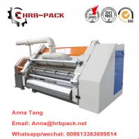 China Carton Machine making corrugated cardboard/Single facer on sale