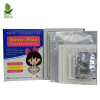 China Bana Wholesale 5Bags Blue And White Box FDA Bamboo Detox Foot Pads on sale