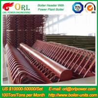 China Industry Electrical Water Boiler Power CFB Boiler Header 500MW Rate Factor wholesale