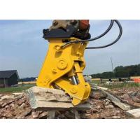 China High Efficiency Hydraulic Pulverizer Attachment For Excavator Easy Operation wholesale