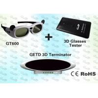 China OEM 3D Cybercafé Solution with 3D IR emitter and glasses  wholesale