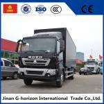 China 336HP Van Cargo Truck SINOTRUK HOWO 4X2 Euro 2 Lorry Vehicle Heavy Cargo Truck wholesale