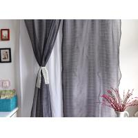 China Elegant Multiple Colors Modern Window Curtains Lightweight Fabric For Living Room wholesale