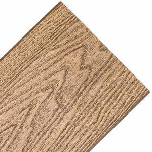 China 150*25mm 3D deep online patten wood plastic composite decking wholesale