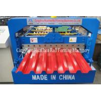 China Toching Screen Roofing Sheet Making Machine Aluminium Roll Forming Machine 5.5Kw wholesale