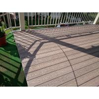 China WPC composite deck boards for wpc stairs lawn decking garden decking boards wholesale