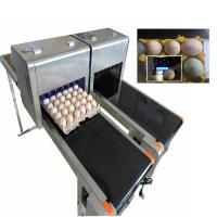 China Digital Egg Batch Coding Machine / Inkjet Coding Machine For Effective Date wholesale