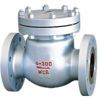 China ANSI Class 300 2 Inch Flanged Check Valve , Swing BS 1868 Check Valve on sale