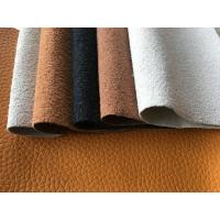 China 150cm Width PU Leather Material Faux Leather Clothing Fabric For Laminating wholesale