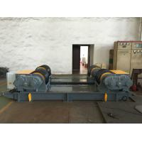 China Dual PU Wheel Welding Pipe Turning Rolls / Conventional Welding Rotator Loading 200T Pressure Vessel wholesale