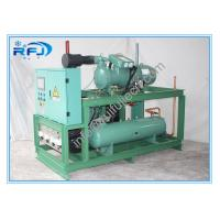 China Single Screw Type Compressor Refrigeration Condensing Units / Refrigerator Cooling Unit wholesale