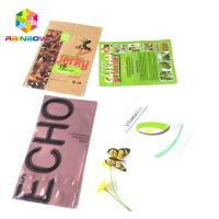 China Resealable Foil Pouch Packaging Plastic Aluminum Foil Color Printing Three Side Seal wholesale
