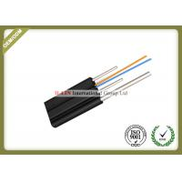 China Outdoor FTTH Fiber Optic Drop Cable Single Mode With PVC Or LSZH Jacket wholesale