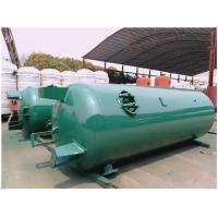 Quality Horizontal Sandblasting Galvanized Steel Water Storage Tanks 300 Litre - 3000 for sale