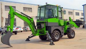 China WZ22-16 Heavy Earth Moving Equipment , 5t Front End Loader Backhoe wholesale
