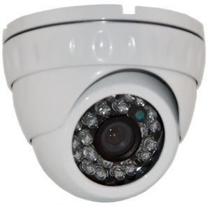 China Micro1.0MP Megapixel Security Camera , 720P HD TVI Vandal Proof CCTV Dome Camera wholesale