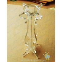 China CH (51) bubble Acrylic candle holder wholesale