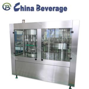 China Washing Sealing Drinking Water Filling Machine 3 In 1 Monoblock Normal Pressure wholesale